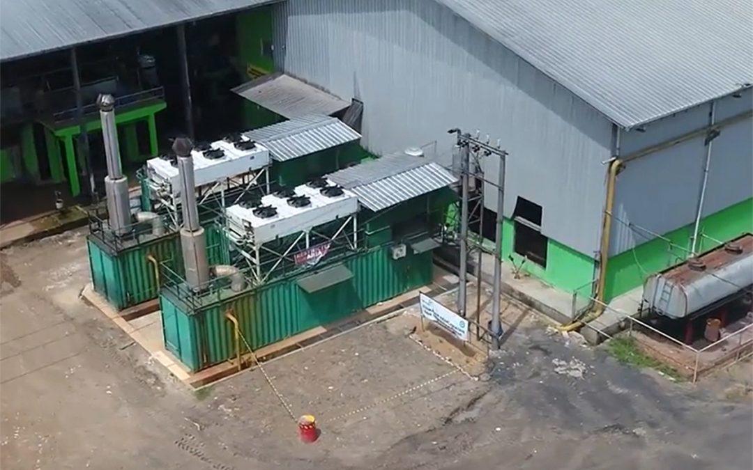 Organics biogas production in Indonesia
