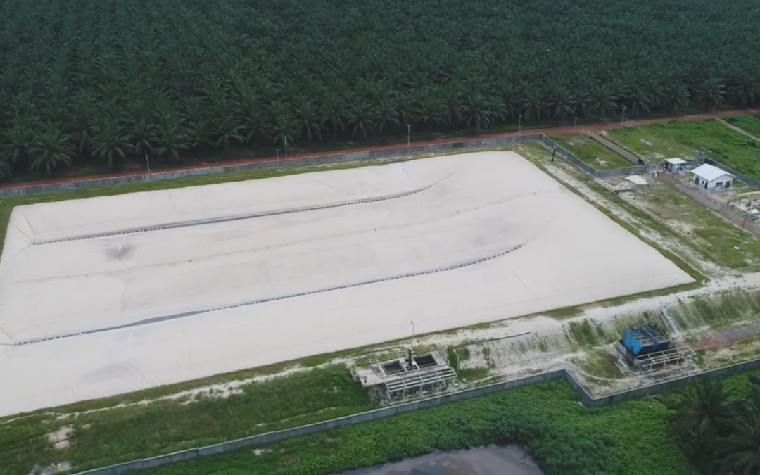 The Production of Biogas from Palm Oil Plants in Indonesia Using Lagoon Technology